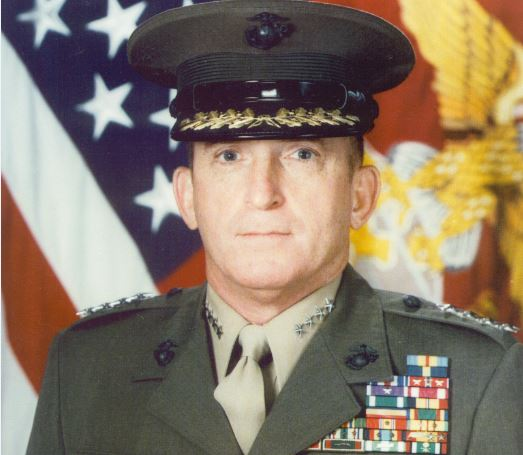 Retired Gen. Charles Krulak, the Marine Corps' 31st commandant, has endorsed Congressman Walter Jones in the Republican primary in eastern North Carolina.